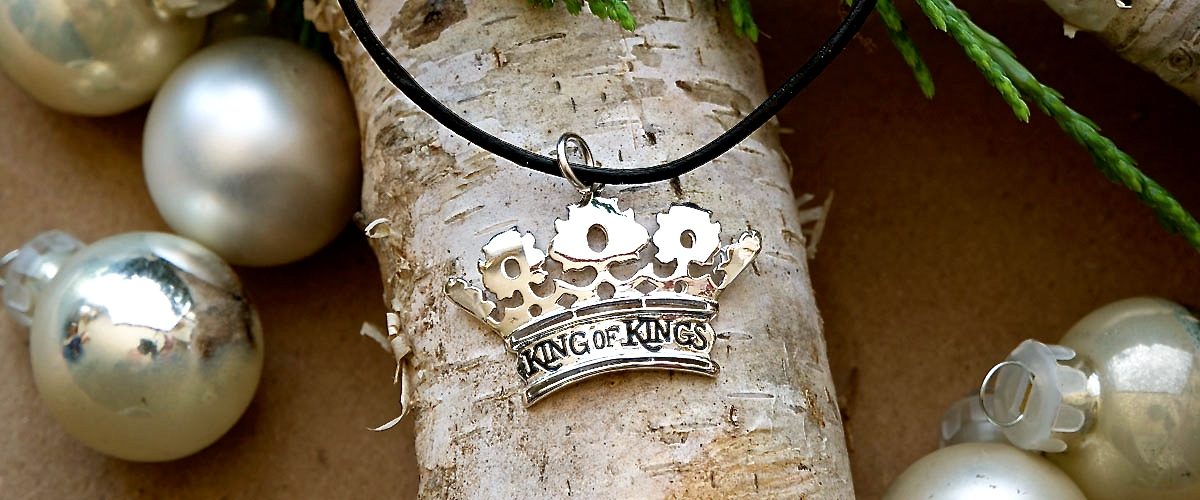 King of Kings Necklace Slide