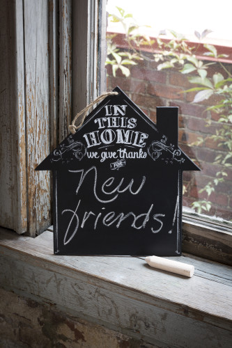 In This House Chalkboard