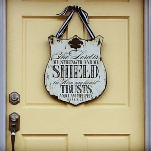 My Shield-Yellow Door