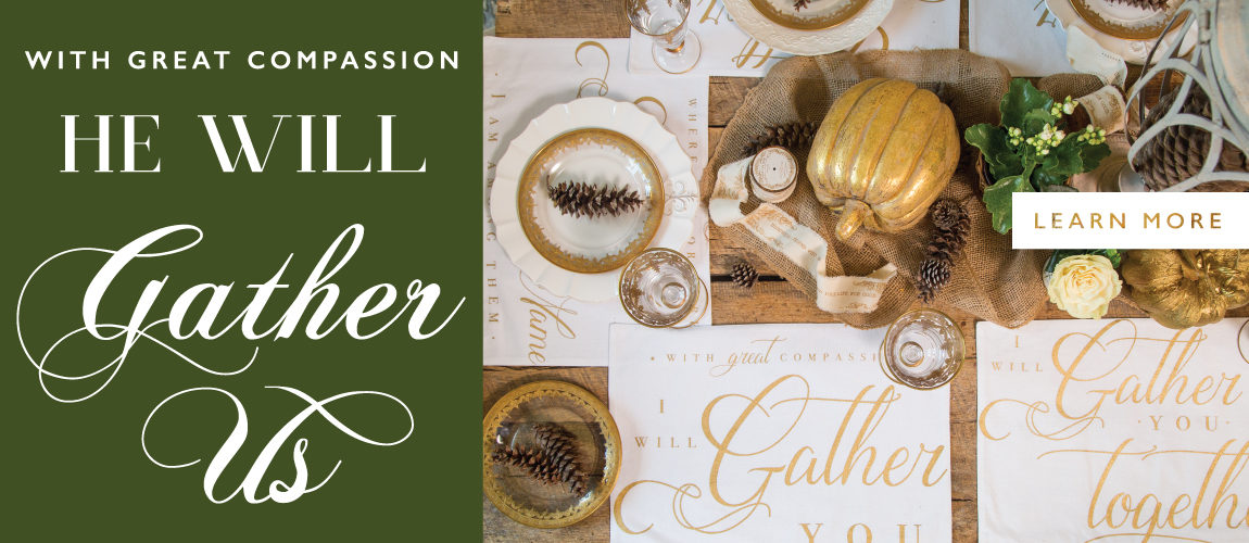 NEW: Gather Together Placemats