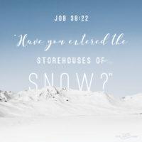 Storehouses of Snow