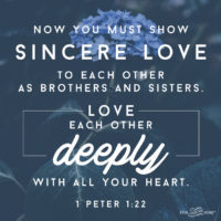 Love Each Other Deeply