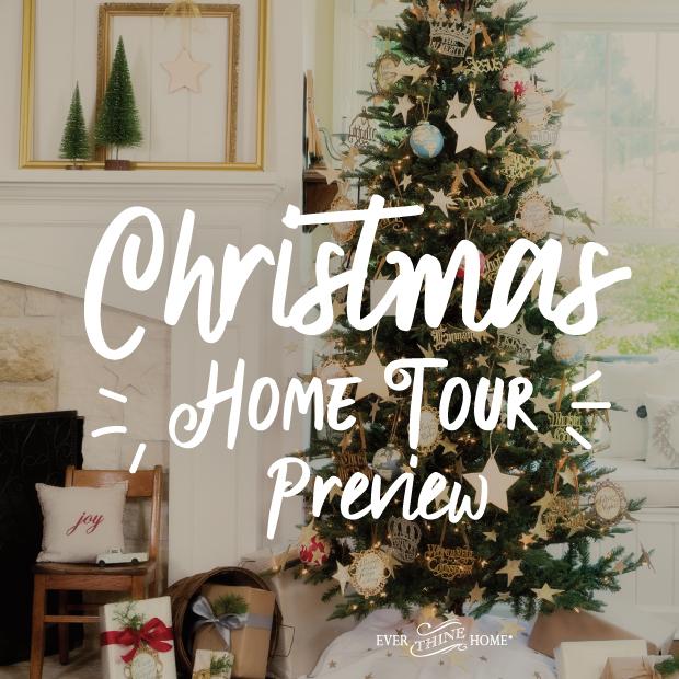 Christmas Tours.Christmas Home Tour 2017 Ever Thine Home