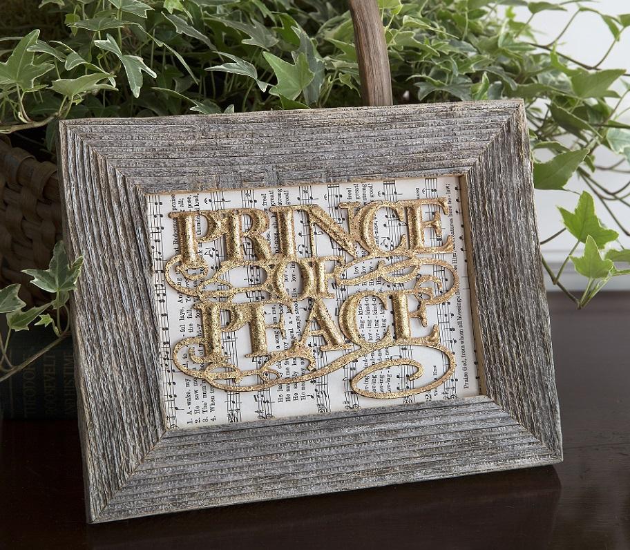 prince of peace framed diy kit