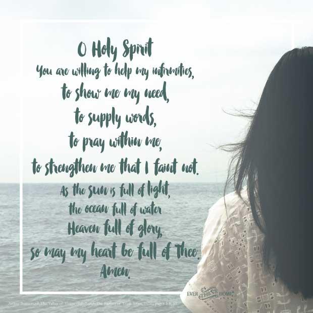 Holy Spirit -- My Helper, My Friend