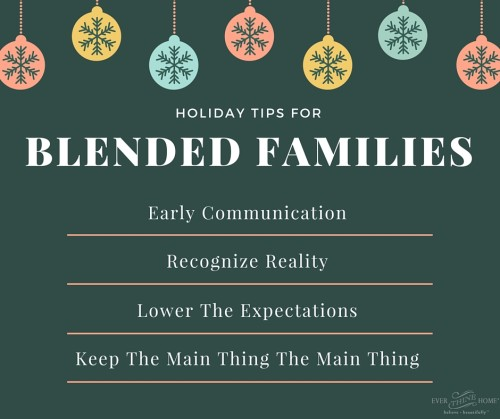 Holiday Tips for Blended Families