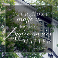 Your Home Matters…Because Anniversaries Matter 5 Ideas for Celebrating Your Anniversary