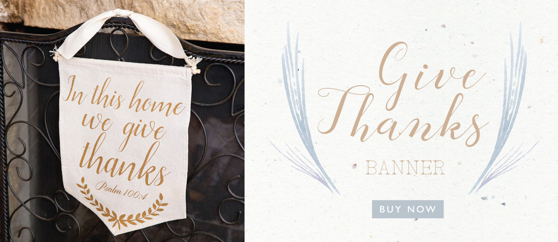 NEW: Give Thanks Banner