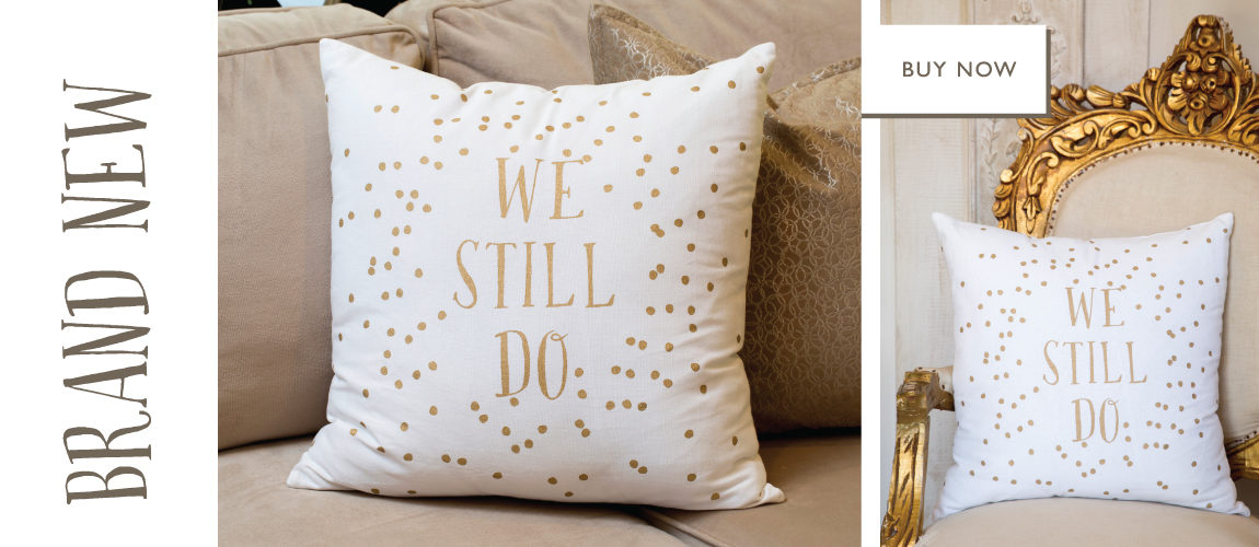 NEW: We Still Do Polka Dot Pillow
