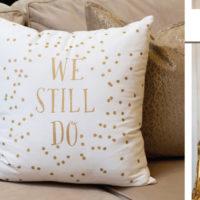NEW: We Still Do Polka Dot Pillow
