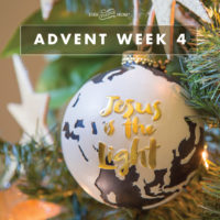Advent Week 4: JESUS IS THE LIGHT