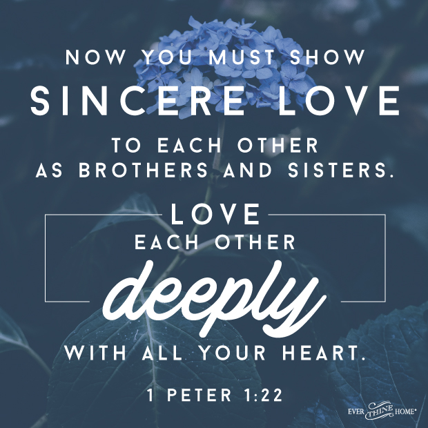 Love Each Other Deeply: Love Each Other Deeply