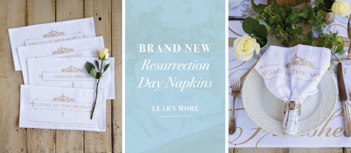 Resurrection Day Napkins