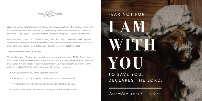 I am with you - Ever Thine Home