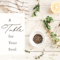 A Table for Your Soul