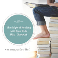 The Delight of Reading with Your Kids +a suggested list