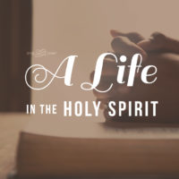 A Life in the Holy Spirit