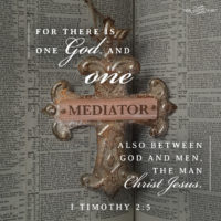 He is Our Mediator