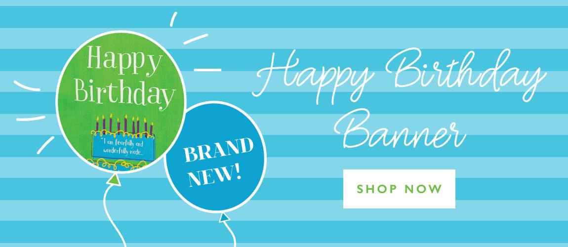 BRAND NEW: Happy Birthday Banner