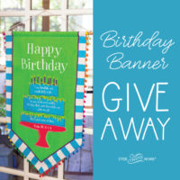 Birthday Banner Giveaway