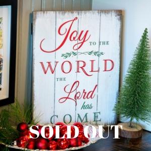 Joy to the World Board