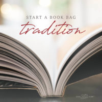 Start a Book Bag Tradition